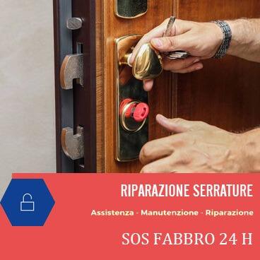Sos Fabbro Riparazione Serrature H24